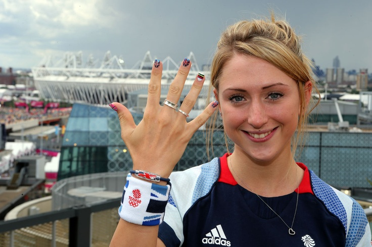 Team GB's Laura Trott fittest olympic cycling woman