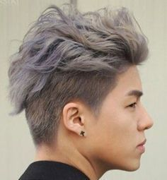 Asian men are known for their straight hair and ability to rock just about any hairstyle, whether it's a fade, undercut, top knot, man bun, side s