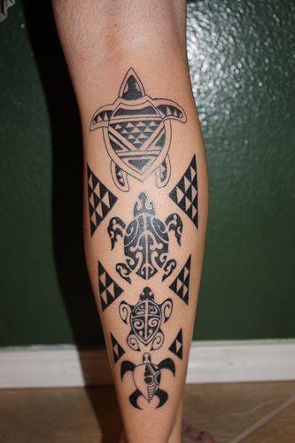 Tatuagens Maori – Significado, Fotos - tartaruga: longevidade, família.