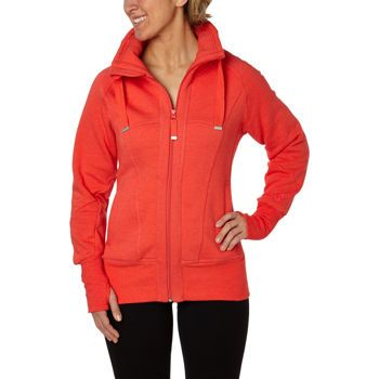 Costco: Mondetta Ladies' Full Zip High Collar Fleece ...