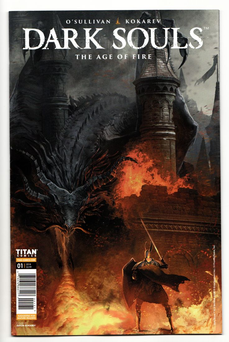 Dark Souls Age Of Fire 1 Cvr C (Titan, 2018) NM Dark