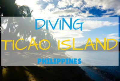 Discover diving with manta rays surrounded by the turquoise waters of Ticao Island