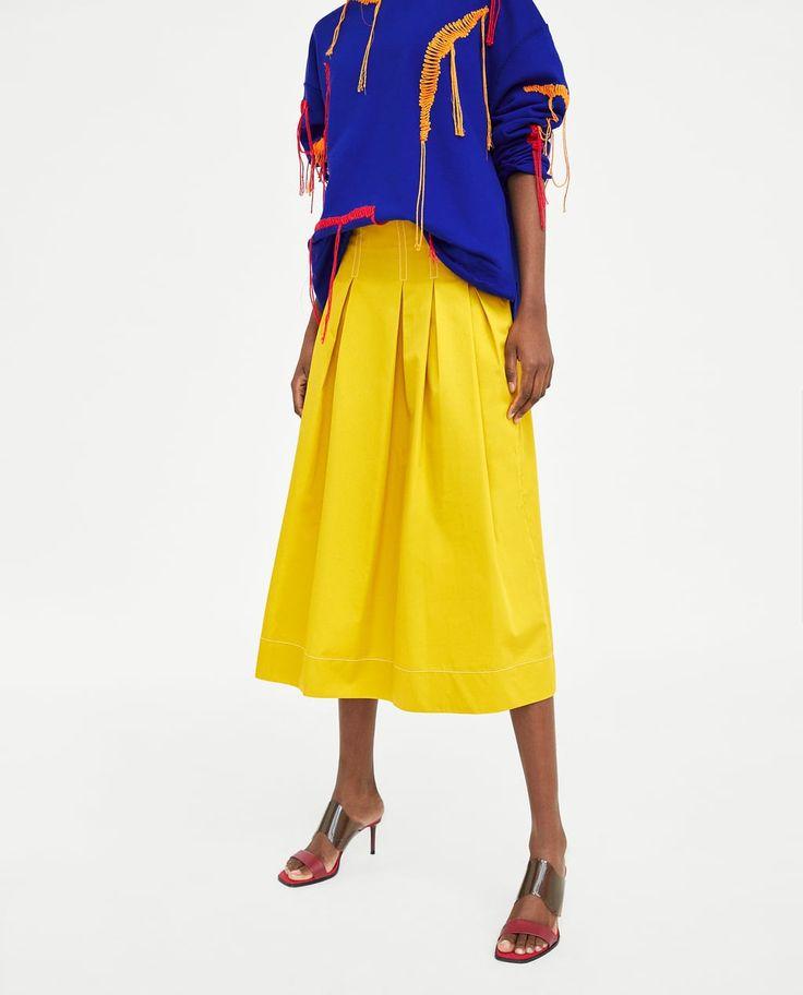 Women's Skirts   New Collection Online   ZARA United Kingdom