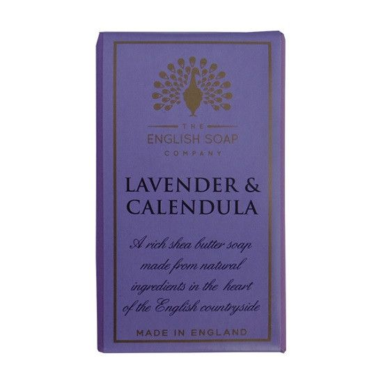The English Soap Company Lavender and Calendula BAR SOAP
