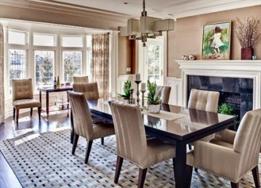 Sensational Dining Room Fireplaces That Will Take You Aback