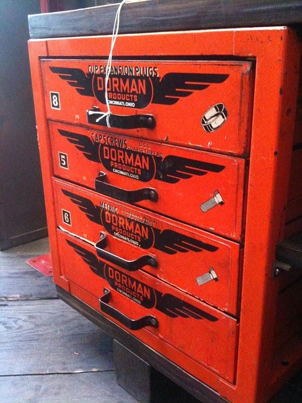 Old hardware drawers