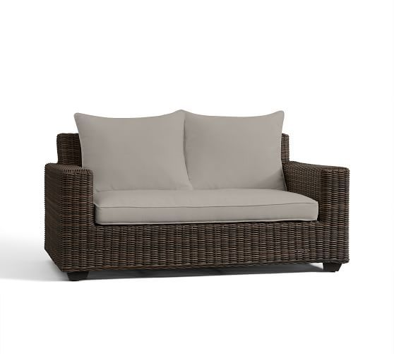 Torrey Outdoor Furniture Cushion Slipcovers | Pottery Barn $312 In Sand,  Grey,