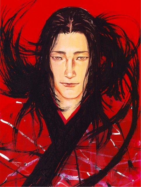 Sasaki Kojiro from Vagabond manga series. by Takehiko Inoue