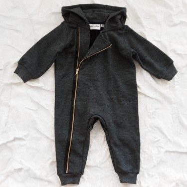 Clothes: mini rodini biker jumpsuit...just a hint of rocker :)