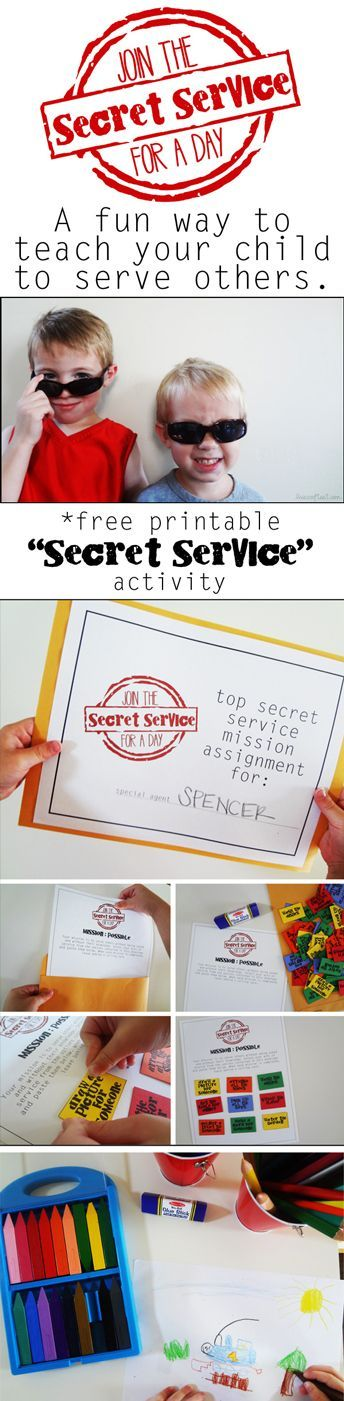 the secret service activity a lesson in kindness adorable activity printables - Free Childrens Printables