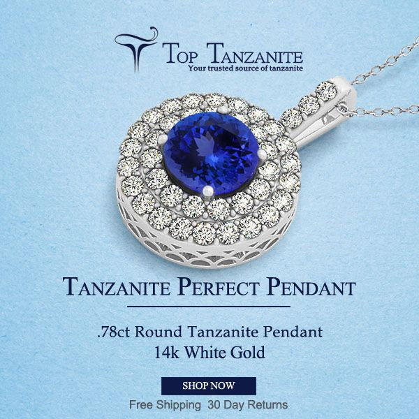 197 best tanzanite pendant images on pinterest tanzanite pendant diamond pendant designs with round tanzanite mozeypictures Images