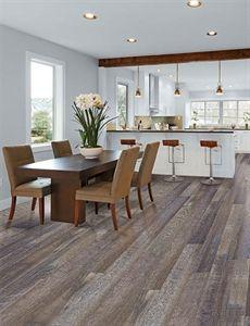"Show details for Home Legend SyncoreX Windsong Oak- 7-1/16"" waterproof, water resistant floors, luxury vinyl plank, hardwood alternative, 20 mm wear layer, gray floor, wide plank floor"