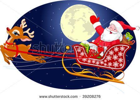 santa claus sleigh - Google Search