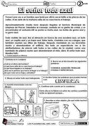 """Una nueva lectura para trabajar la comprensión lectora. Autor: Jesús González Molina (Esc. Primaria """"Vicente Guerrero"""" de Los Placeres del Oro, Guerrero, México) Más de este tipo a continuación… """"RE"""