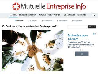 MutuelleEntrepriseInfo.fr fournit du contenu informatif gratuit sur les mutuelles d'entreprise.