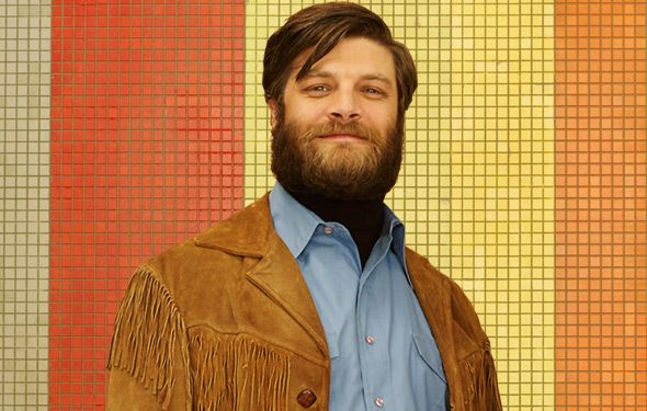 Stan + his epic beard + fringy jacket + PEGGY, please!