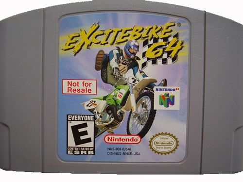Not For Resale Excitebike 64 - N64 Game