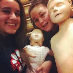 Selfie with Baby Anne and Little Junior