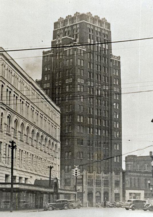 Threefoot Building Meridian Mississippi -1920's