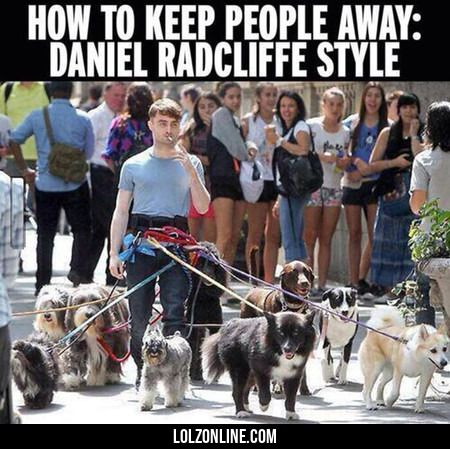 Daniel Radcliffe's Method Works#funny #lol #lolzonline