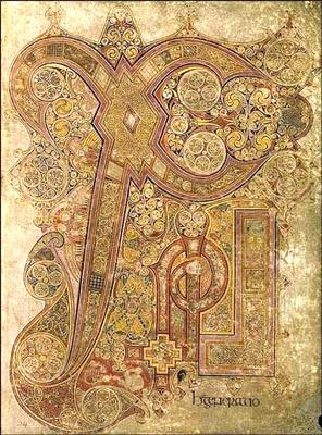 Le Livre de Kells, VIe siècle                                                                                                                                                                                 Plus