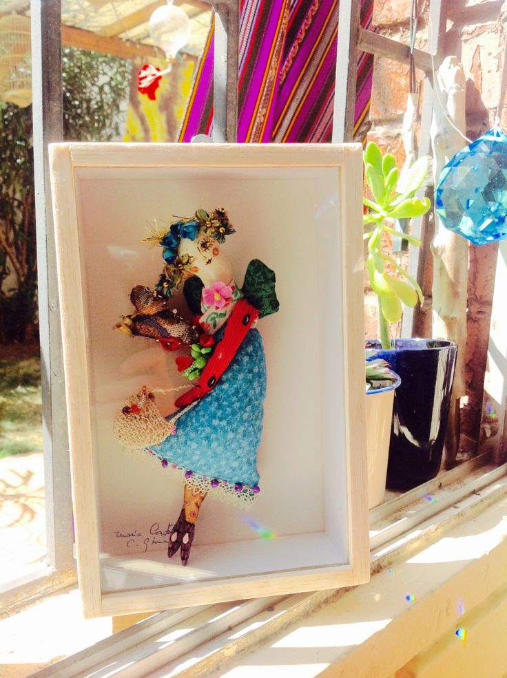 Al fin con mi muñequita ! De María Castaña!😘😘 Un lindo regalo en mi cumpleaños