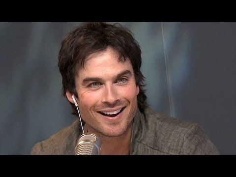 """Ryan talked to Ian Somerhalder about being the perfect Christian Grey in the forthcoming """"50 Shades of Grey"""" movie?"""