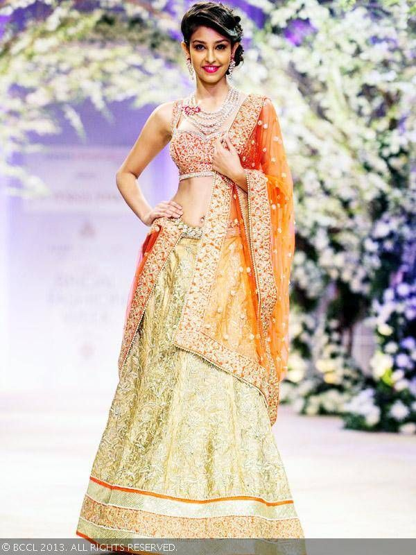 JONA by http://www.JyotsnaTiwari.com/ @ 'Aamby Valley India Bridal Fashion Week 2013-14' #IBFW