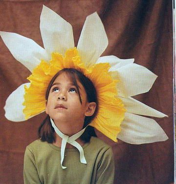 Crepe Paper Costume Picture from Martha Stewart's Living article Oct 1998