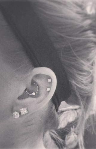 Piercing Types and 80 Ideas On How to Wear Ear Piercings   Nail Art, Hairstyles & Beauty Tips