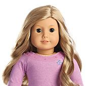 Truly Me™ Doll: Light Skin with Freckles, Blond Hair, Brown Eyes