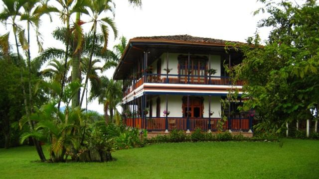 Typical Colombian Hacienda