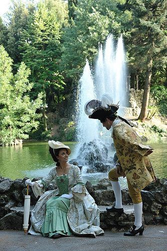 INVITO A CORTE! An 18th century pic nic in SALSOMAGGIORE TERME (Parma) Italy | by COUNT ARTOIS