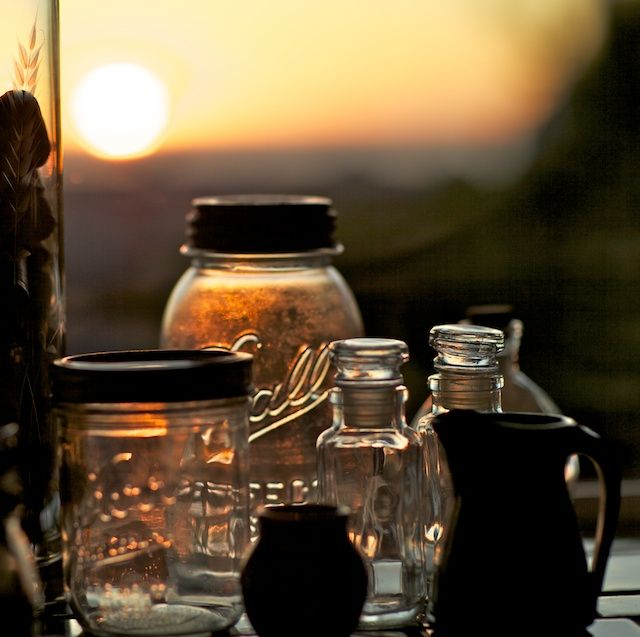 Medicine making during sunrise...
