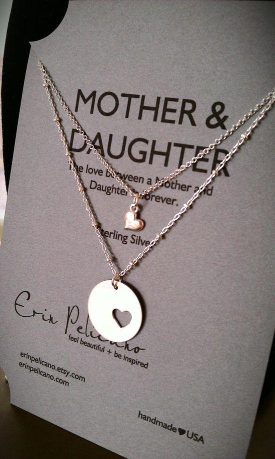 Mother Daughter Necklace Set- Allison