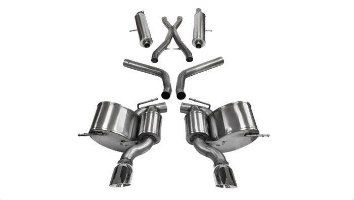 "2012-2016 Jeep Grand Cherokee SRT-8 Corsa Sport Stainless 2.75"" Dual Exhaust 14466"