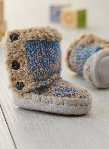 Cat. 16/17 - #353 Slipper boots | Buy, yarn, buy yarn online, online, wool, knitting, crochet | Buy Online