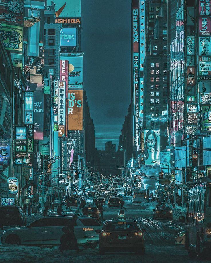 "1,685 Likes, 50 Comments - Yoshito Hasaka / 羽坂譲人 (@_f7) on Instagram: ""Weekend edit battle with @tokio_kid ROUND 4 - ""The Neo York City."" #f7vstokio_kid  Looking through…"""