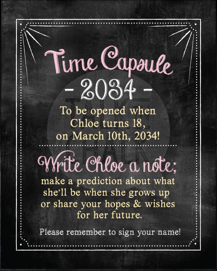 Time Capsule Quotes: The 25+ Best Time Capsule Birthday Ideas On Pinterest
