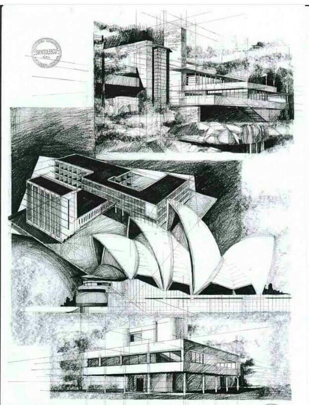 Modern Architecture Sketches 95 best sketch images on pinterest | sketching, sketch and