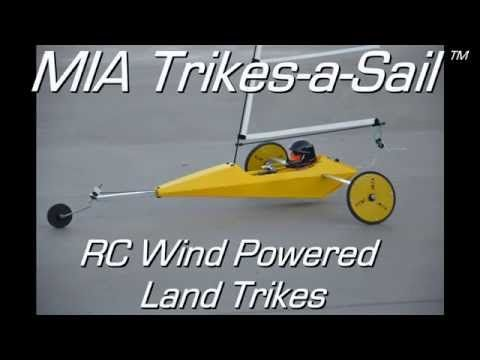 MIA Trike A Sail RC Wind Powered Trike AKA RC Land Yacht