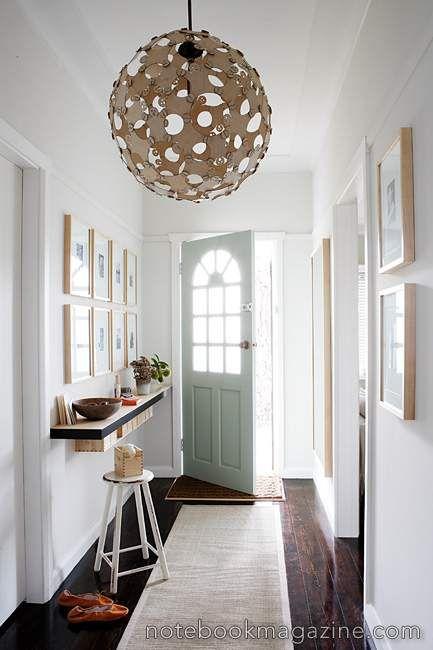 white foyer interior