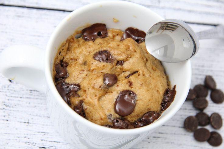 Csokis bögrés süti recept