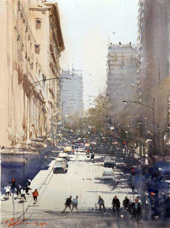 Watercolor. Joseph Zbukvic | Watercolor. Joseph Zbukvic | Pinterest | 水彩畫. 水彩 y 絵畫