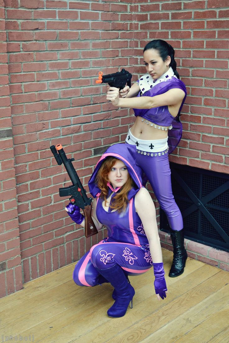 Kinzie Kensington and Asha Odekar - Saints Row IV - Super Homies by zhobot.deviantart.com on @deviantART