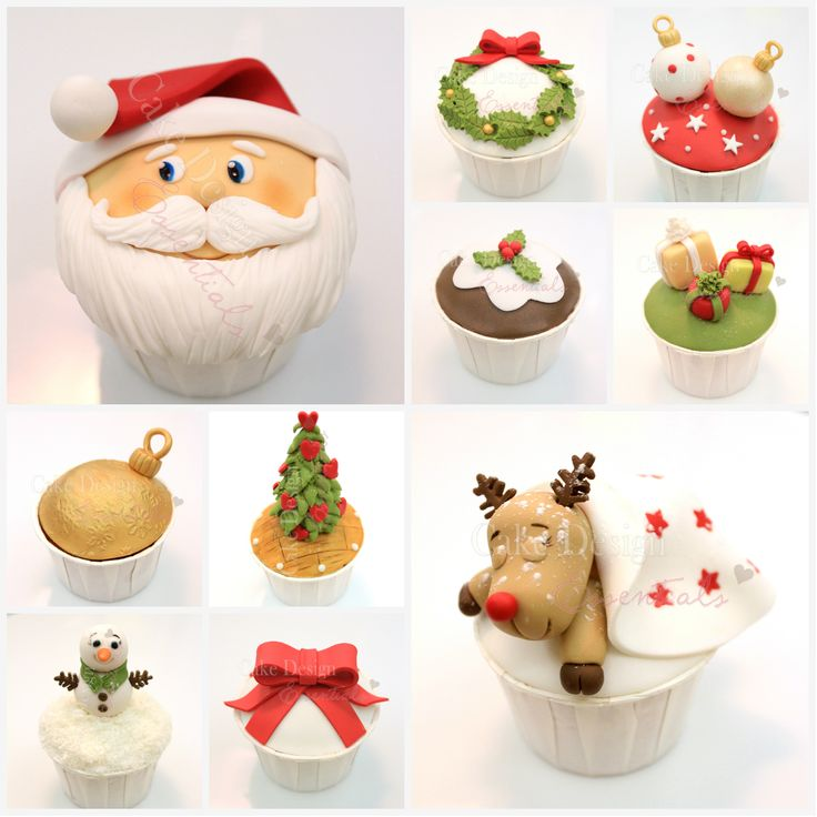 Tutorial – Cupcakes de Natal — Cake Design Essentials