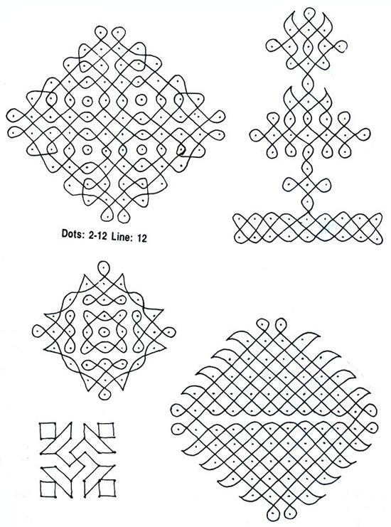 muggulu designs with dots sankranthi muggulu with dots s5 new