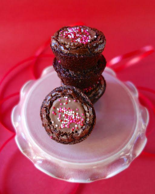 Reese's Brownie Bites #valentines