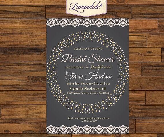 Bridal Shower Party Chalkboard Lace Sweet_inv_009 by Lavandule