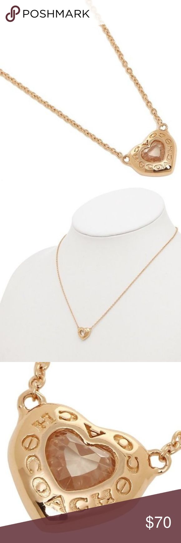 "Coach F27135 Open Circle Heart Rose Gold Necklace Coach F27135 Open Circle Heart Rose Gold Necklace  item# 273090178403  100% Authentic Coach!  Buy with confidence!  MSRP: $95.00  Style: F27135  Features:  Brand: Coach  Color: Rose Gold  Plated brass  Lobster clasp closure  Adjustable 7 1/2"" - 8 1/2"" (L)  Comes with Coach gift box  Imported  Please feel free to ask any questions. Happy shopping! Coach Jewelry Necklaces"